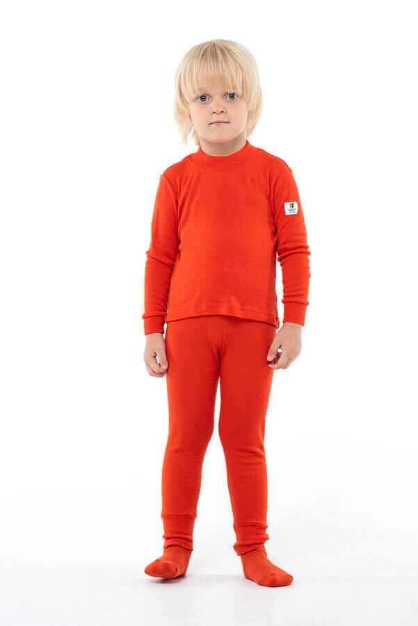 Janus Prince or Princess Wool термокальсоны детское апельсиновые - 4