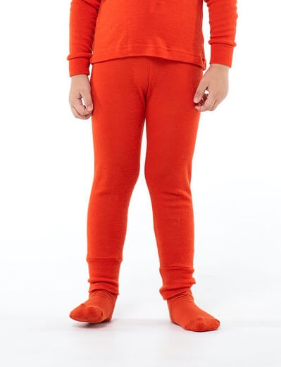 Janus Prince or Princess Wool термокальсоны детское апельсиновые