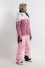 Cool Zone VIBE комбинезон для сноуборда женский белый-розовый - 2