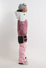 Cool Zone VIBE комбинезон для сноуборда женский белый-розовый - 3