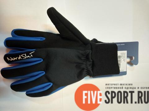 Nordski Warm лыжные перчатки синие