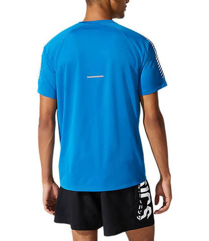 Asics Icon Ss Top беговая футболка мужская голубая