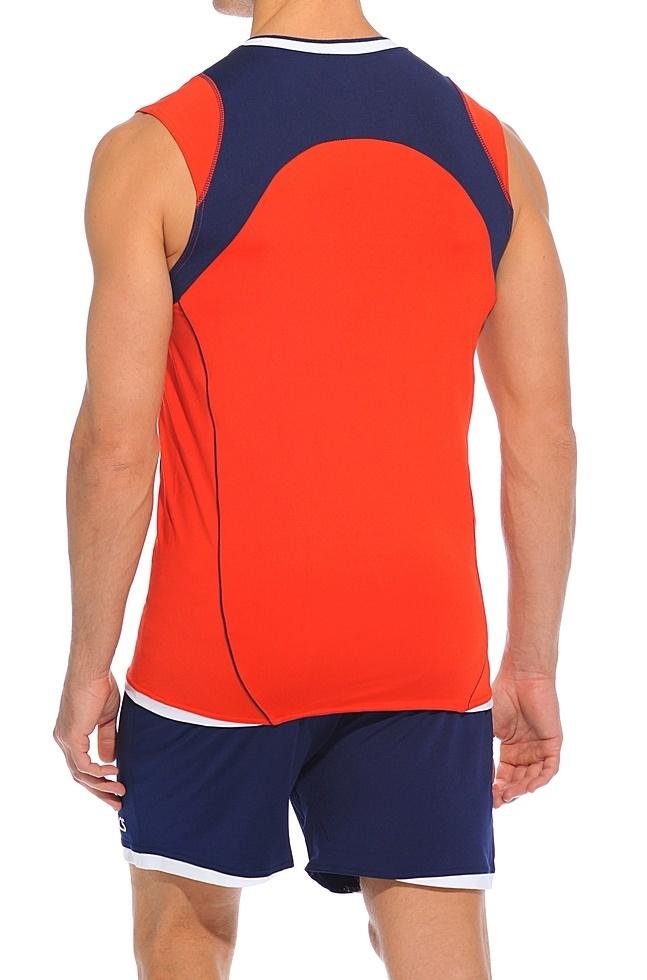 Форма волейбольная Asics Set Volley Smu красная - 3