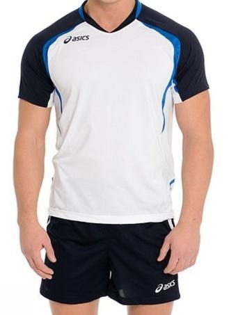 Волейбольная форма Asics Set Tiger Man белая