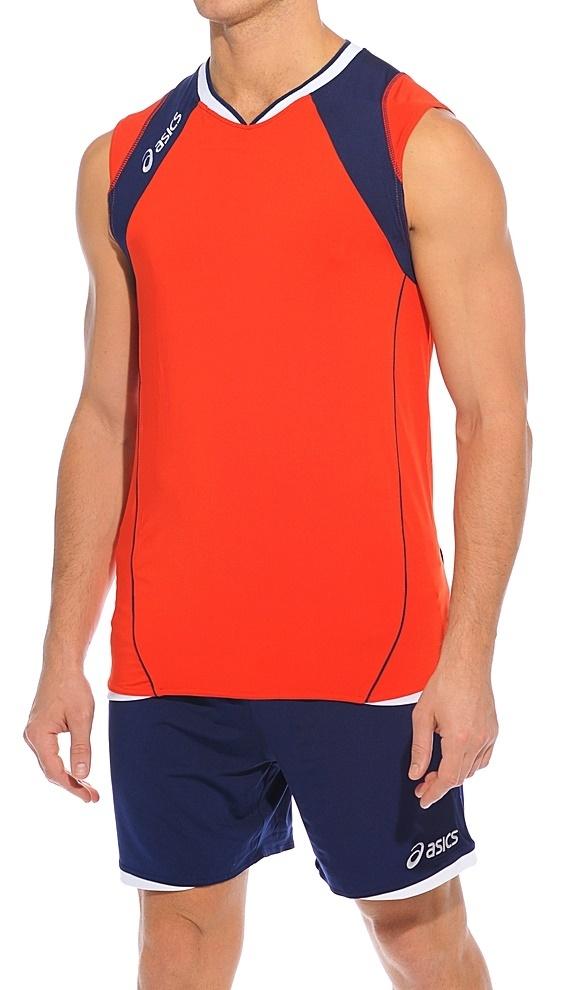 Форма волейбольная Asics Set Volley Smu красная - 2
