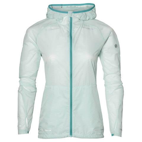 Asics Lite-Show женская ветрозащитная куртка белая