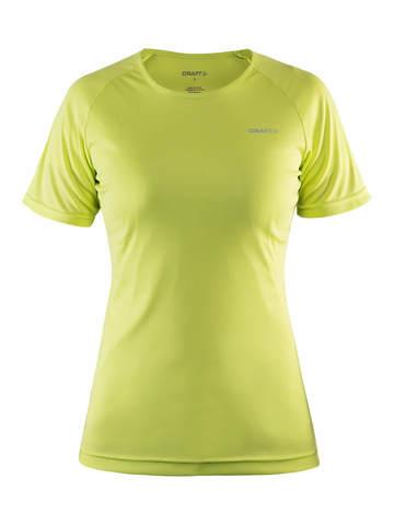 Craft Prime Run женская футболка спортивная желтая