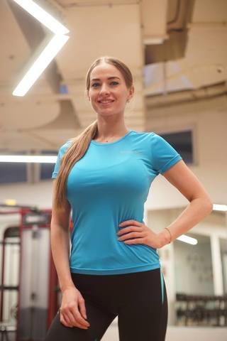 Nordski Active футболка женская light blue