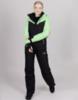 Горнолыжный костюм женский Nordski Extreme black-lime - 1