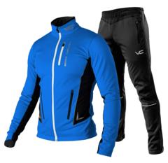 Victory Code Speed Up разминочный лыжный костюм синий