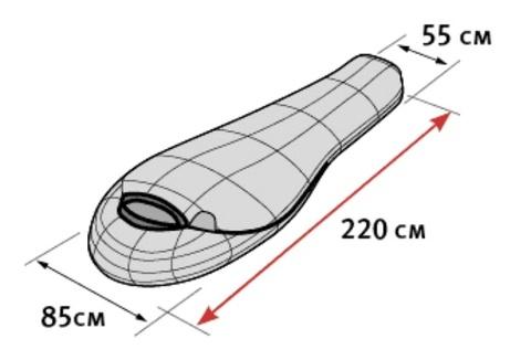 Alexika Delta спальный мешок экстремальный