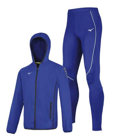 Mizuno Micro Premium Jpn костюм для бега мужской синий