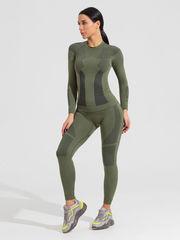 V-MOTION F-10 женское термобелье комплект зеленый