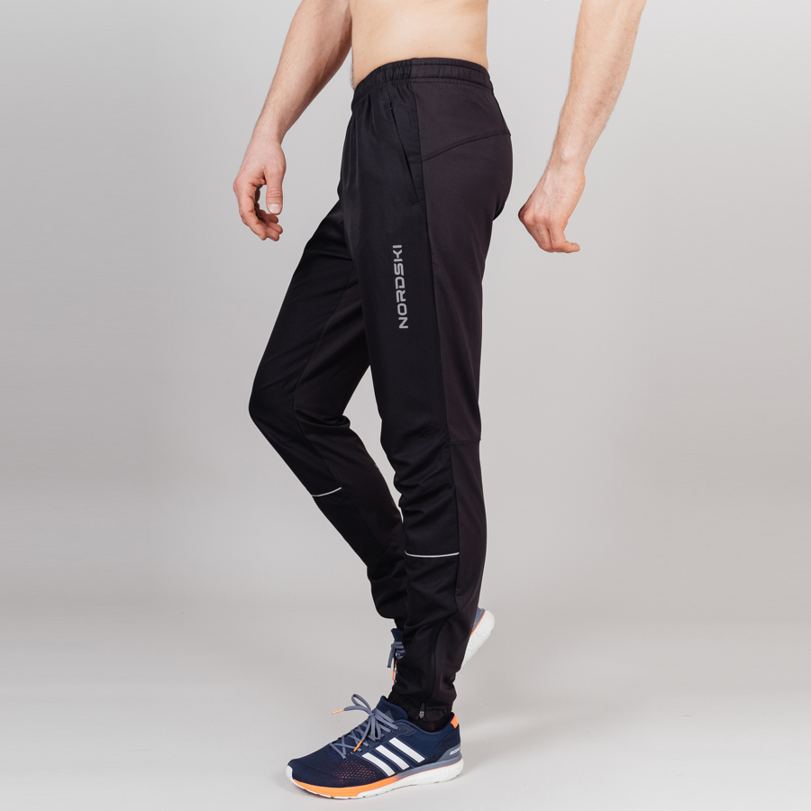 Nordski Sport костюм для бега мужской red-blue - 4