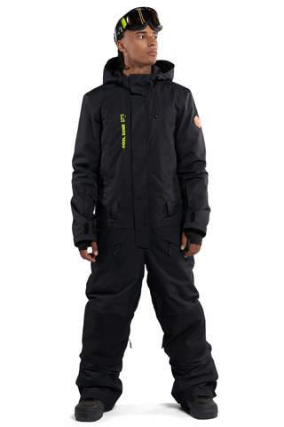 Cool Zone SnowMen мужской сноубордический комбинезон черный