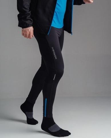 Nordski Premium тайтсы для бега black-blue