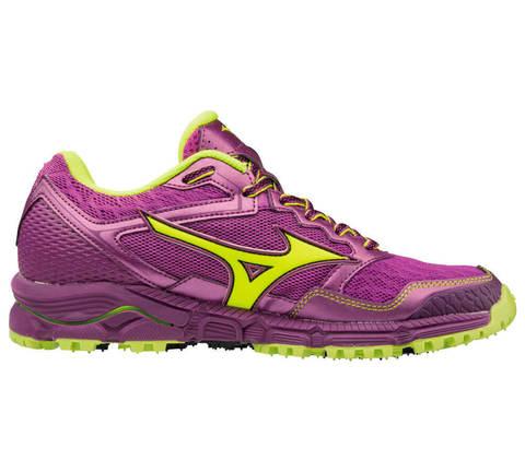 Кроссовки для бега женские Mizuno Wave Daichi 3 фиолетовые