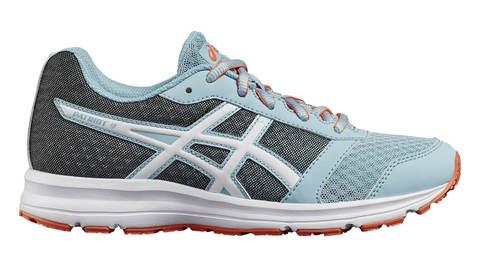 Asics Patriot 9 GS кроссовки для бега детские голубые-серые