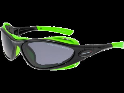 Goggle Aura+ спортивные солнцезащитные очки black-green