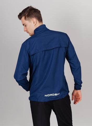 Nordski Motion Premium костюм для бега мужской Navy-Black