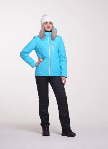 Nordski Premium женский утепленный лыжный костюм голубой