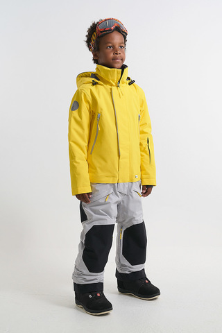 Комбинезон утепленный детский Cool Zone NICK желтый-серый