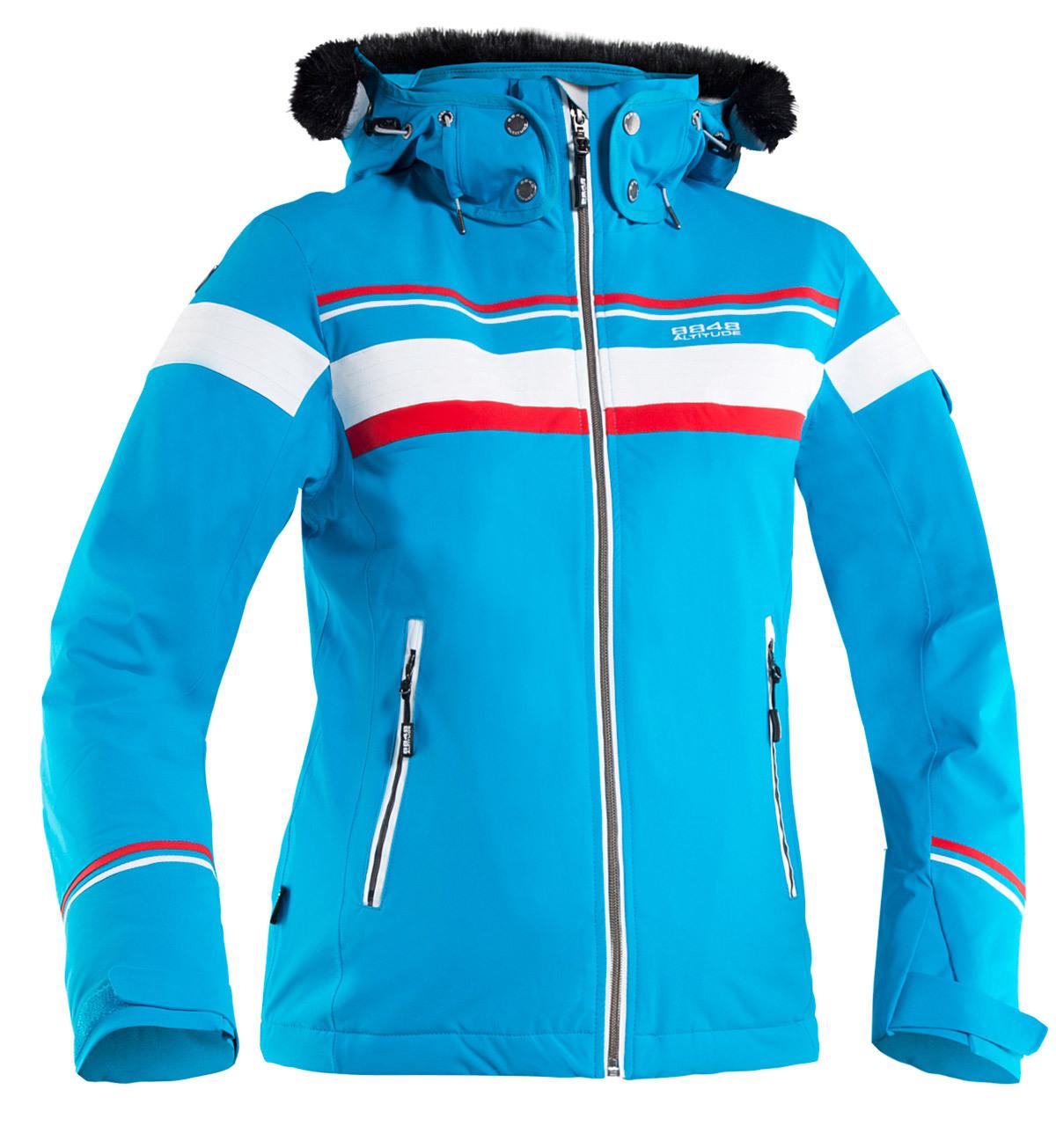 Горнолыжная куртка 8848 Altitude Carlin голубая