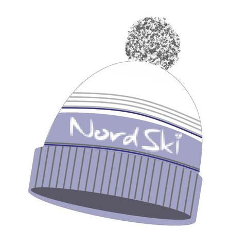 Nordski Stripe лыжная шапка gray