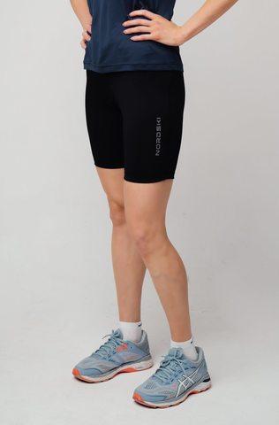 Nordski Premium Run женские шорты обтягивающие Black-Breeze