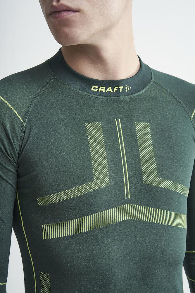 Craft Active Intensity мужское термобелье терморубашка green - 3