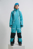 Cool Zone CRUSH комбинезон женский горнолыжный бирюзовый - 1
