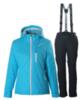 Nordski Premium женский утепленный лыжный костюм голубой - 3