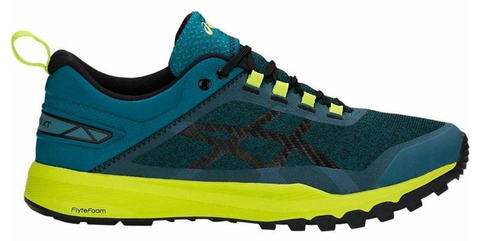 Asics Gecko Xt кроссовки беговые мужские синие-желтые