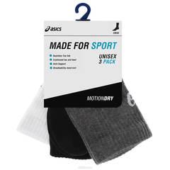 Беговые носки (упаковка 3PPK) Asics Crew Sock (0701)