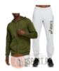 Asics Full Zip Big Logo спортивный костюм с капюшоном мужской - 1
