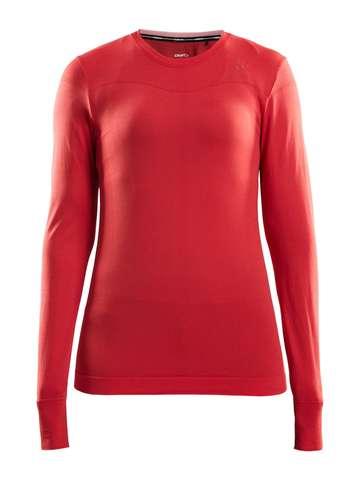Craft Fuseknit Comfort термобелье рубашка женская red