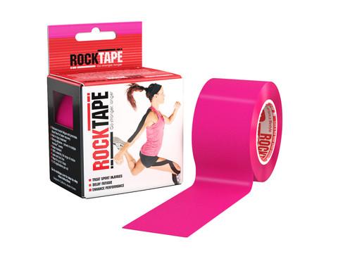 RockTape Classic кинезиотейп pink