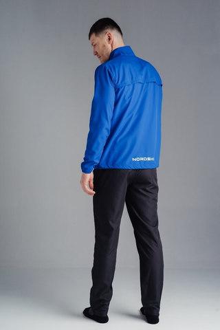Nordski Motion костюм для бега мужской Vasilek/Dark blue