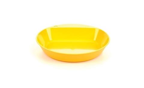 Wildo Camper Plate Deep глубокая туристическая тарелка lemon