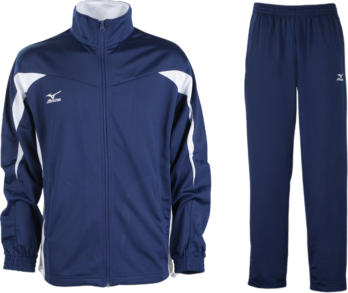 Спортивный костюм Mizuno Team Knitted Track Suit Equip синий
