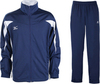 Спортивный костюм Mizuno Team Knitted Track Suit Equip синий - 1