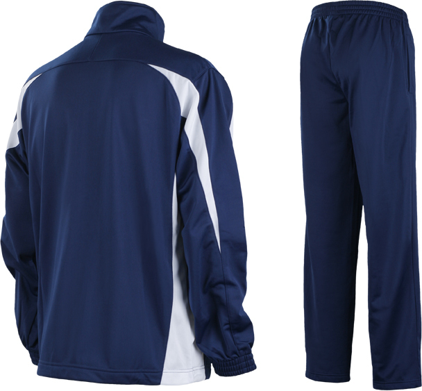 Спортивный костюм Mizuno Team Knitted Track Suit Equip синий - 2