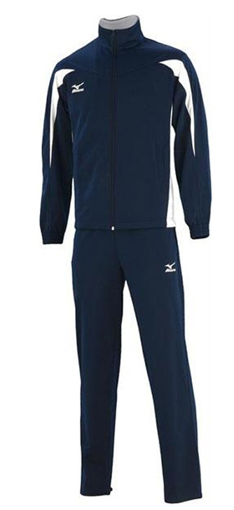 Спортивный костюм Mizuno Team Knitted Track Suit Equip синий - 3