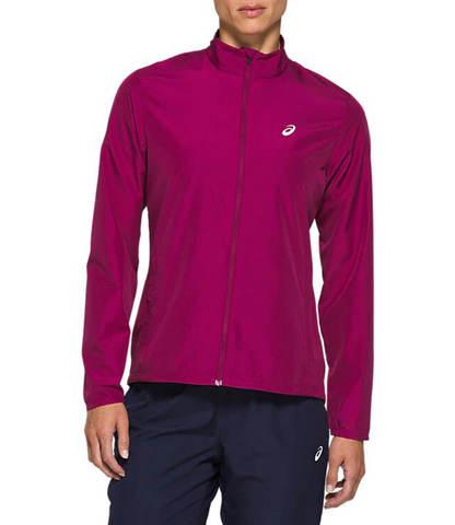 Asics Silver Jacket куртка для бега женская фиолетовая