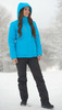 Nordski Mount лыжная утепленная куртка женская blue - 3