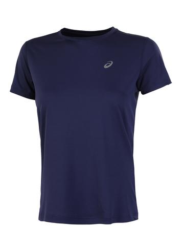 Asics Silver Ss Top футболка для бега женская синяя