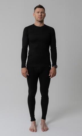 Nordski Warm мужской комплект термобелья black