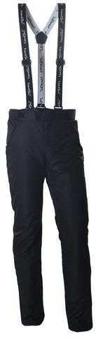 Nordski Premium мужские теплые лыжные брюки черные
