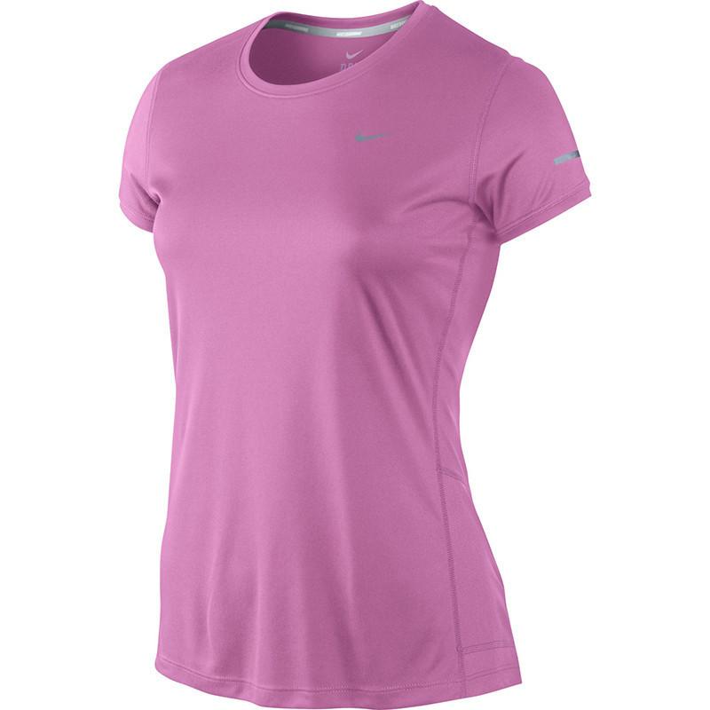 Футболка Nike Miler SS Crew Top (W) /Рубашка беговая