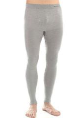 Термобелье мужское Brubeck Comfort Wool кальсоны серые